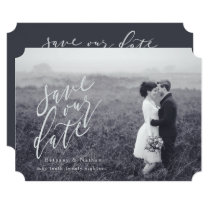 SCRIPT-SAVE THE DATE CARD