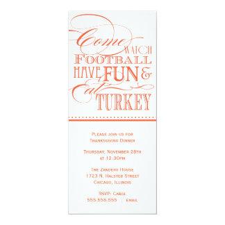 Script Thanksgiving Dinner Invitation