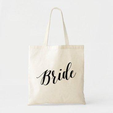 NBpaperco Script Tote   Bride