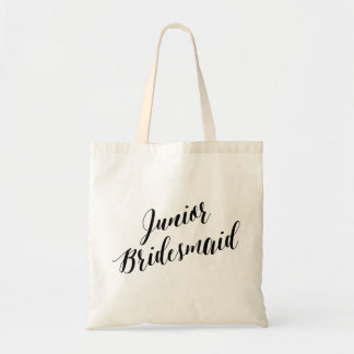 Script Tote | Junior Bridesmaid