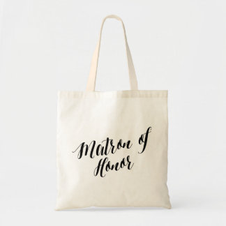 Script Tote | Matron of Honor