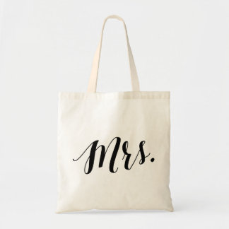 Script Tote | Mrs