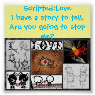 Scripted;Love Poster