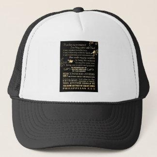 Scriptural Bible Verse - Philippians 2: 1-5 Trucker Hat