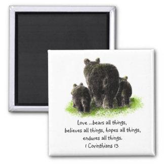 Scripture 1 Corinthians 13:4 Love is Magnet