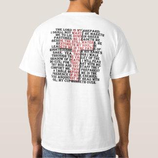 Scripture 23rd Psalm T Shirt