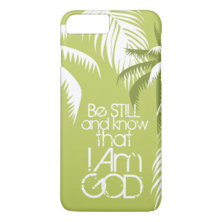 Scripture Be Still and Know I Am God Palm Trees iPhone 7 Plus Case