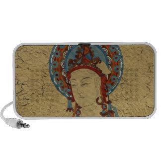 Scripture Buddh Doodle Speaker Crackle Background