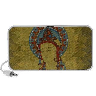 Scripture Buddh Doodle Speaker Maple Leaf Backgr