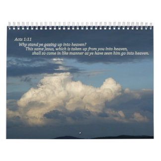Scripture calander calendar