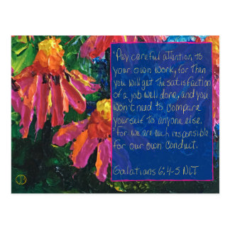 Scripture Card Galatians 6:4-5