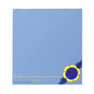 Scripture Christian Notepad