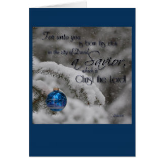 Scripture Christmas Card