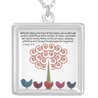 Scripture for Teachers Necklace