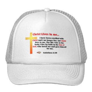 Scripture Mesh Hat