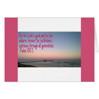Scripture Note Card