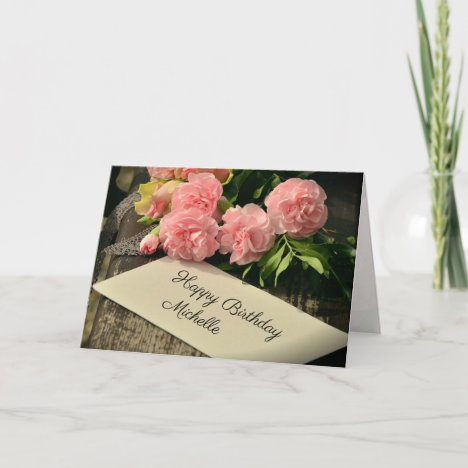 Scripture Personalized Birthday Blessings, Card