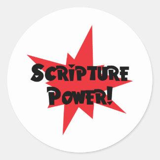 Scripture Power Stickers