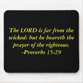 Scripture quote mousepad