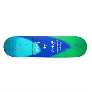 Scripture Skateboard