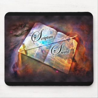 Scripture Sword - Mousepad