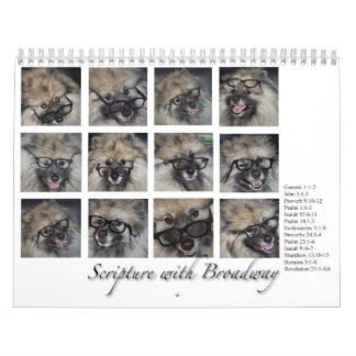Scripture with Broadway, 2016 calendar