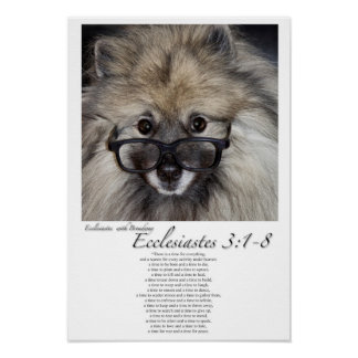Scripture with Broadway: Ecclesiastes 3:1-8. Poster