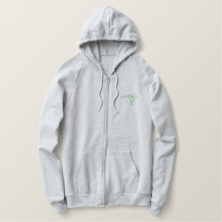 Scroll 0388 embroidered hoodie