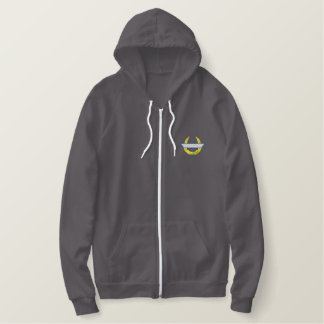 Scroll 0627 embroidered hoodie