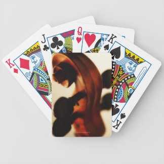 Scroll and Neck Bicycle Playing Cards