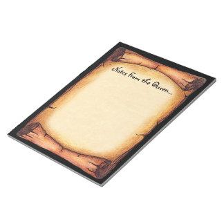 Scroll Border Notepad