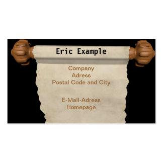 scroll Business Card