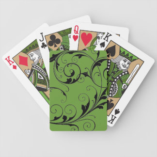 Scroll Design Playing Cards