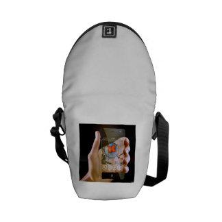 Scroll Game Pad Messenger Bag