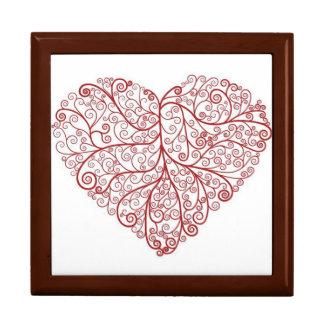 Scroll Heart Large Gift Box