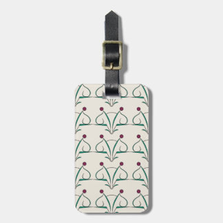 Scroll in color scheme: Call Me Luggage Tag