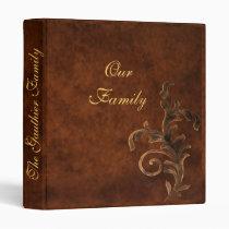 Scroll Leaf Family Album Binders