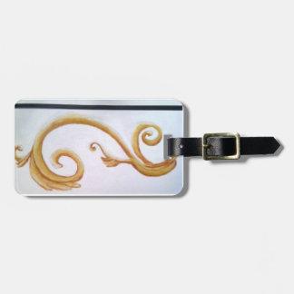 Scroll luggage tag design by bbillips