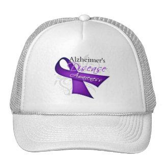 Scroll Ribbon - Alzheimer's Disease Awareness Mesh Hat