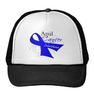 Scroll Ribbon - Anal Cancer Survivor Trucker Hat