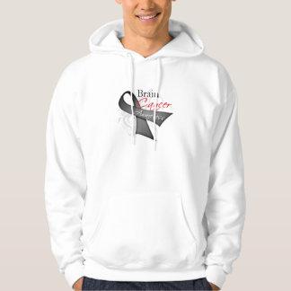 Scroll Ribbon Brain Cancer Awareness Sweatshirt