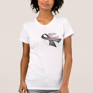 Scroll Ribbon - Brain Tumor Awareness Shirts