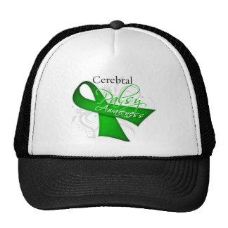 Scroll Ribbon - Cerebral Palsy Awareness Trucker Hat