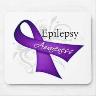 Scroll Ribbon - Epilepsy Awareness Mousepads