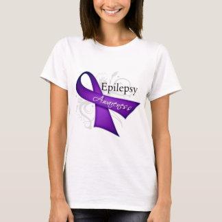 Scroll Ribbon - Epilepsy Awareness T-Shirt
