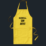 "SCROLL SAW ARTIST - APRON<br><div class=""desc"">SCROLL SAW ARTIST - APRON</div>"