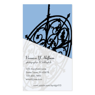 Scroll Weathervane Business Card