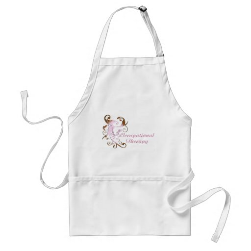 scrollart leaves 2 pink-brown no box2 adult apron
