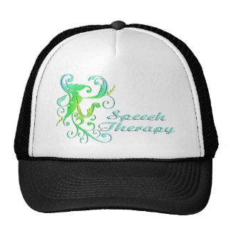 scrollart leaves ST green Trucker Hat