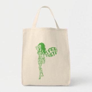 Scrolled La Fee Verte Tote Bag